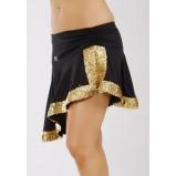 SUZI2 - zdobená vlnitá sukně