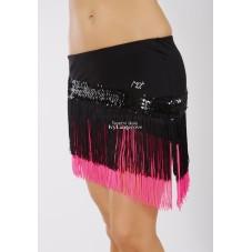 NATALI3 - třásňová sukně šikmá