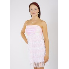 BELLA - třásňové taneční šaty