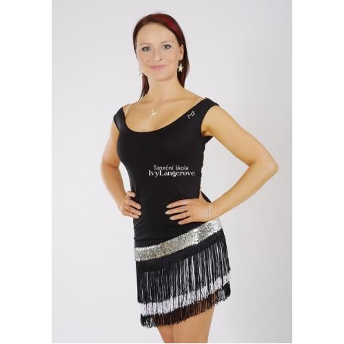 MONICA - třásňové taneční šaty - Taneční šaty - Shop 115bc819a5