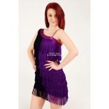 SCARLETT - třásňové taneční šaty