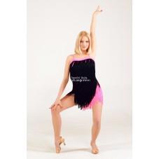 TIFFANI - třásňové taneční šaty