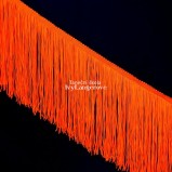 Třásně (18 cm) - oranžová neon