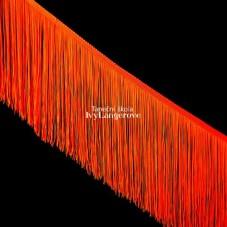 Třásně (18 cm) - oranžová