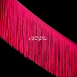 Třásně (18 cm) - růžová neon