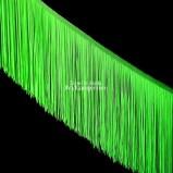 Třásně (18 cm) - zelená neon